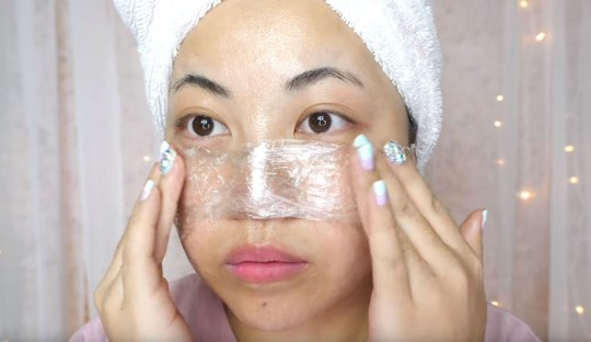 We really wouldn't recommend this 'blackhead-removing' cling