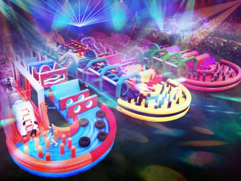 The world's largest inflatable obstacle course is coming to the UK