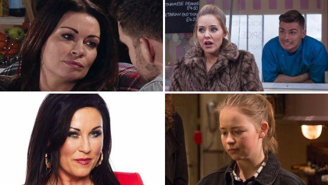12 soap spoiler pictures: Kat EastEnders return, Corrie Richard Hillman twist, Emmerdale attack, Hollyoaks Milo exposed