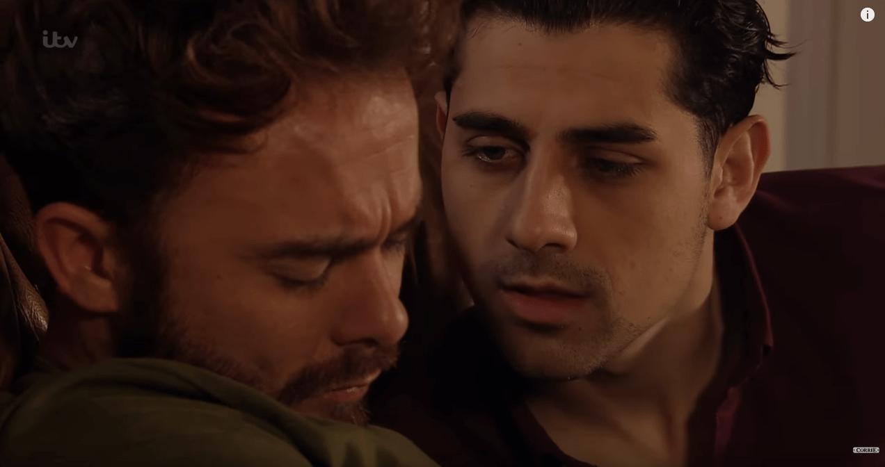 Josh rapes David in Coronation Street