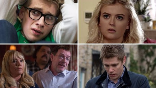Soap spoilers for Alfie in Hollyoaks, Bethany in Coronation Street, Ian and Sharon in EastEnders and Robert in Emmerdale