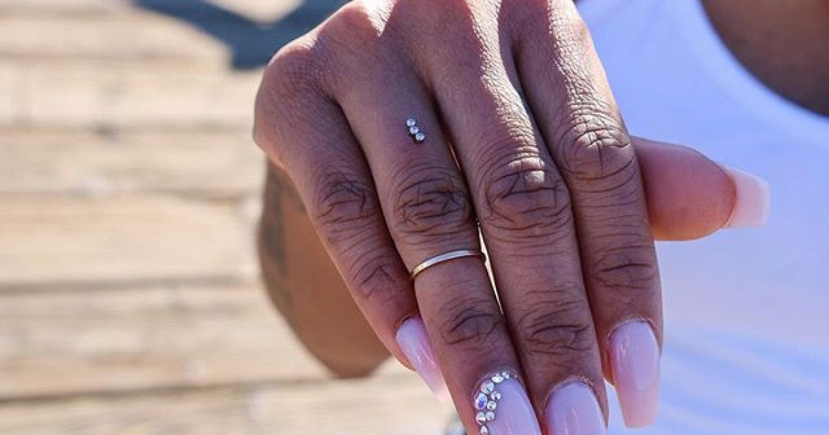 People Are Piercing Their Fingers Instead Of Wearing Engagement