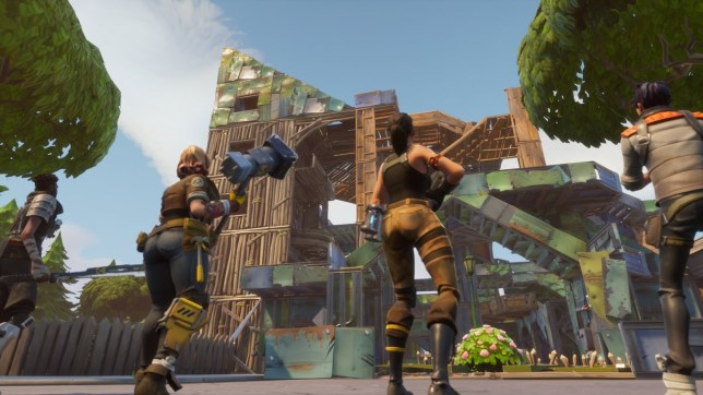 Image result for Building in fortnite