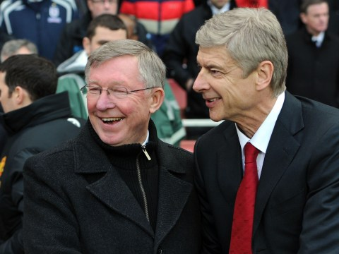 Arsene Wenger reveals message from Sir Alex Ferguson about Arsenal's slump
