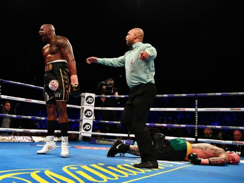Dillian Whyte produces 'worst celebration ever' after beating Lucas Browne