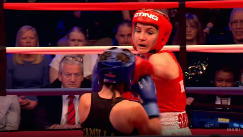 Sport Relief viewers left 'uncomfortable' as Helen Skelton, Vanessa White and more throw punches in celebrity boxing