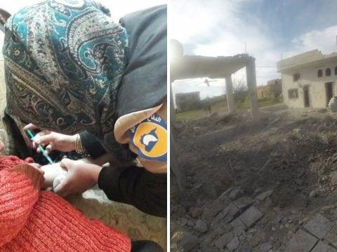 First female White Helmet volunteer killed in Syria bombing