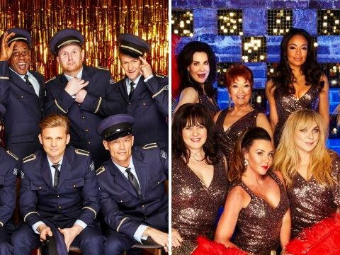 The Real Full Monty date, time and who is taking part in the live show and Ladies Night