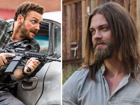 The Walking Dead's Tom Payne dismisses 'lazy' idea of gay romance between Aaron and Jesus in the show