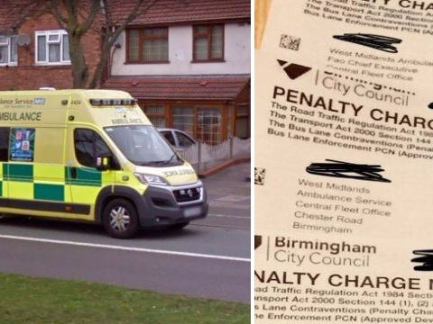 Ambulance service fined £900 every day for using bus lane outside hospital