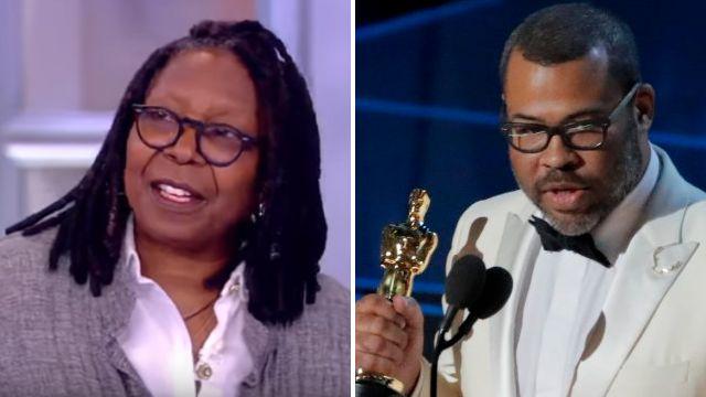 Whoopi Goldberg reacts to Jordan Peele calling her 1991 Oscars speech a 'huge inspiration'