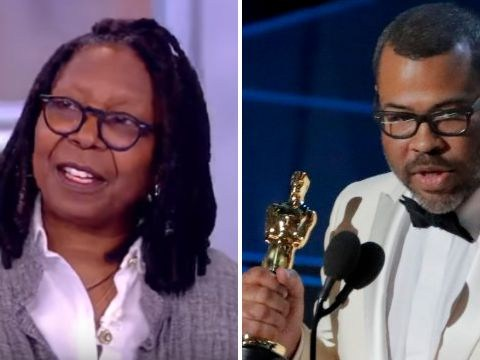 Whoopi Goldberg reacts to Jordan Peele calling her 1991 Oscars speech a 'huge inspiration'