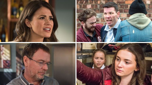 Soap spoilers for Ellie in Hollyoaks, David in Coronation Street, Ian in EastEnders and Gabby and Liv in Emmerdale