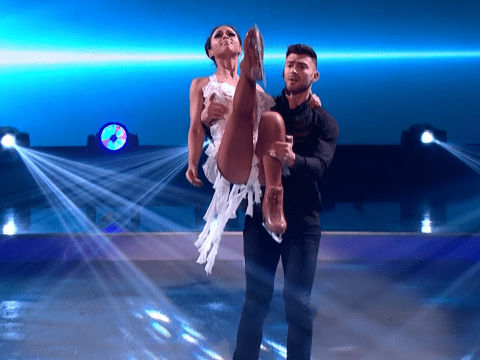 Jake Quickenden will be bandaged up for the Dancing On Ice final