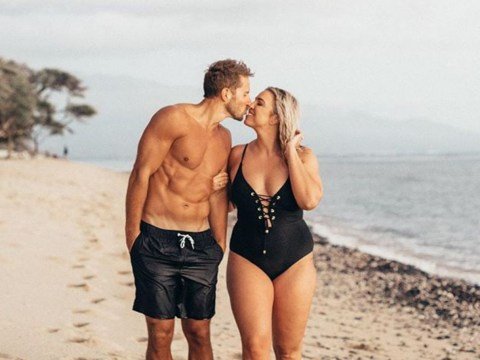 Woman responds to body-shamers who asked her how she landed her hot husband