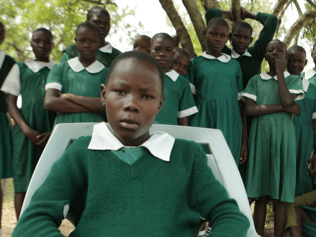 Joan and Judy are sexually harassed every day on the way to school; they're only 12