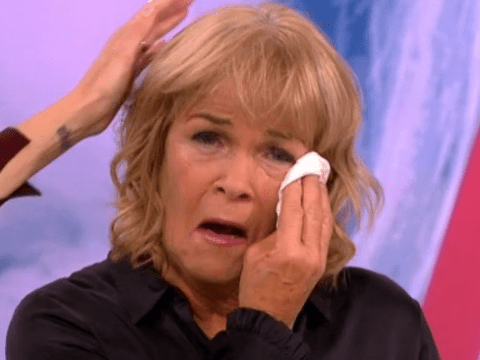 Linda Robson cries as Pauline Quirke pays tribute to her 50 years in showbiz