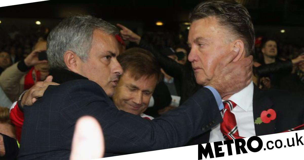 Man Utd News: LVG Ends Feud With Jose Mourinho… Before
