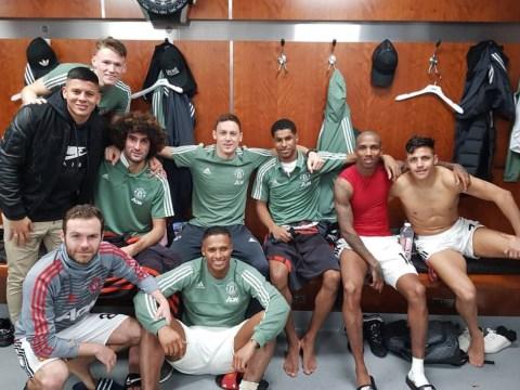 Sergej Milinkovic-Savic 'likes' Manchester United dressing-room celebrations