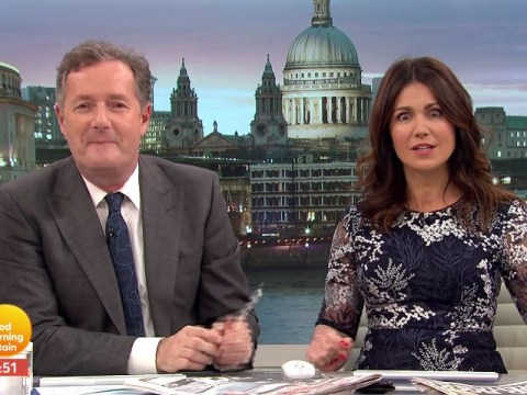 Piers Morgan compares Susanna Reid to 'one of Sharon Osbourne's dogs'