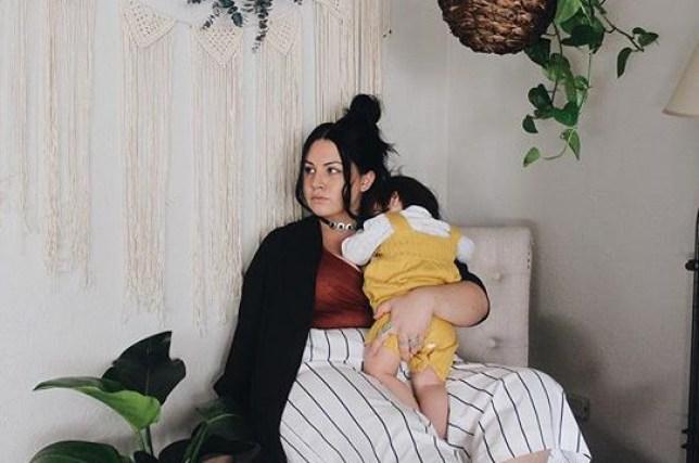 tori block shares reality of postnatal depression