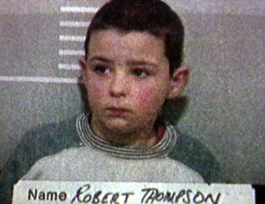 Mandatory Credit: Photo by REX/Shutterstock (338444a) POLICE MUGSHOT OF ROBERT THOMPSON, ONE OF THE MURDERERS OF JAMIE BULGER, TAKEN SHORTLY AFTER HIS ARREST BULGER KILLERS, LIVERPOOL, BRITAIN - FEB 1993 On this day: 20th February, 1993 : Two 10 year old boys have been charged with the abduction and murder of two-year-old James Bulger in Liverpool. The toddler went missing from the Strand Shopping Centre in Bootle last Friday and his body was found on a railway embankment on 14 February.