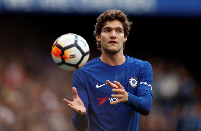 Soccer Football - FA Cup Fourth Round - Chelsea vs Newcastle United - Stamford Bridge, London, Britain - January 28, 2018 Chelsea's Marcos Alonso Action Images via Reuters/John Sibley