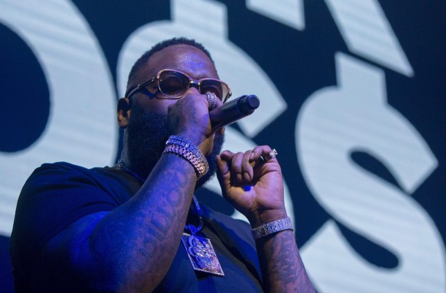 Rick Ross hooked to machine 'taking over the function of his heart and lungs'