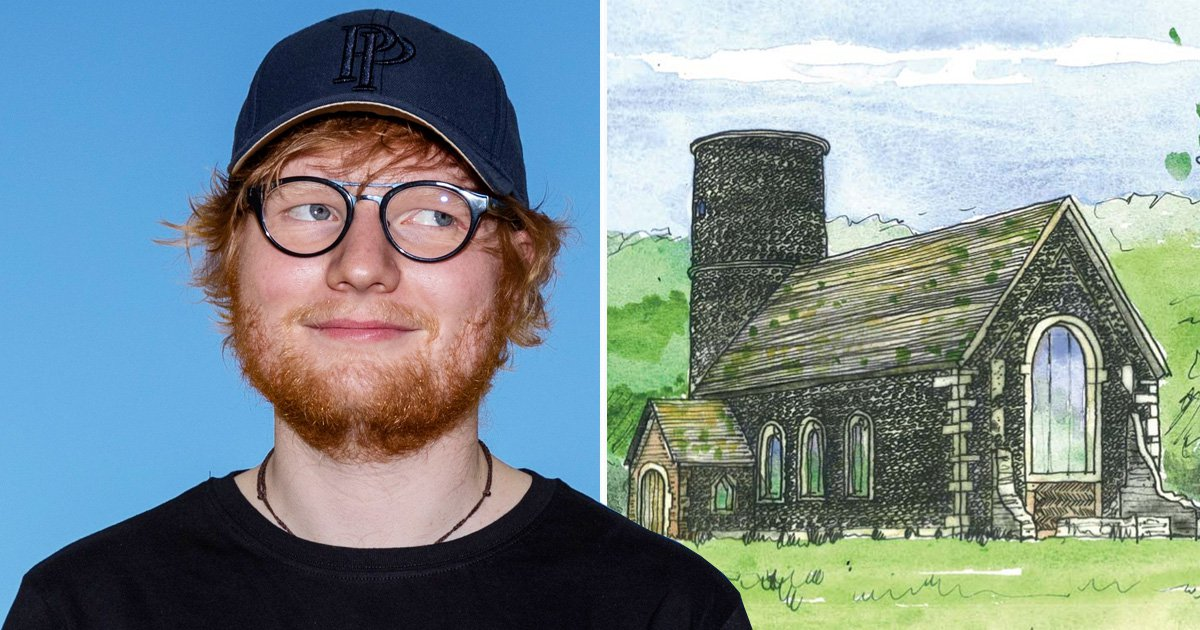 Ed Sheeran 'submits plans to build own private chapel for his wedding to Cherry Seaborn'