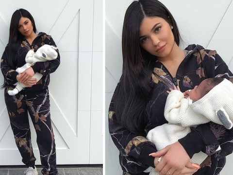 Motherhood suits Kylie Jenner as she debuts first pic with Stormi
