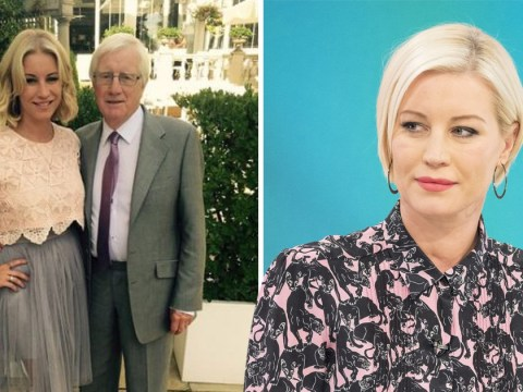 Denise Van Outen's dad suffers nasty injury due to the 'Beast From The East'