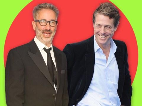 Hugh Grant tells David Baddiel to give himself more self love to cure his insomnia