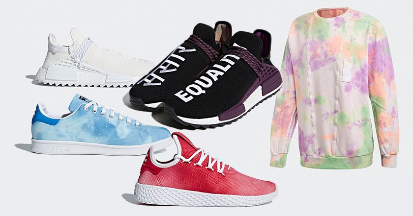 Adidas launches new Pharrell collection inspired by Holi