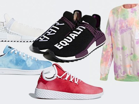 Adidas launches new Pharrell Williams collection inspired by Holi festival