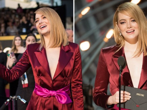 Emma Stone accused of 'white feminism' as she makes diversity comment during Oscars speech