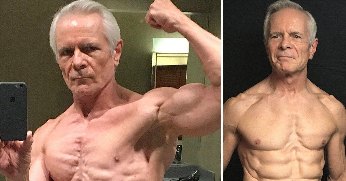 Meet the 67-year-old granddad who is more ripped than you'll ever be