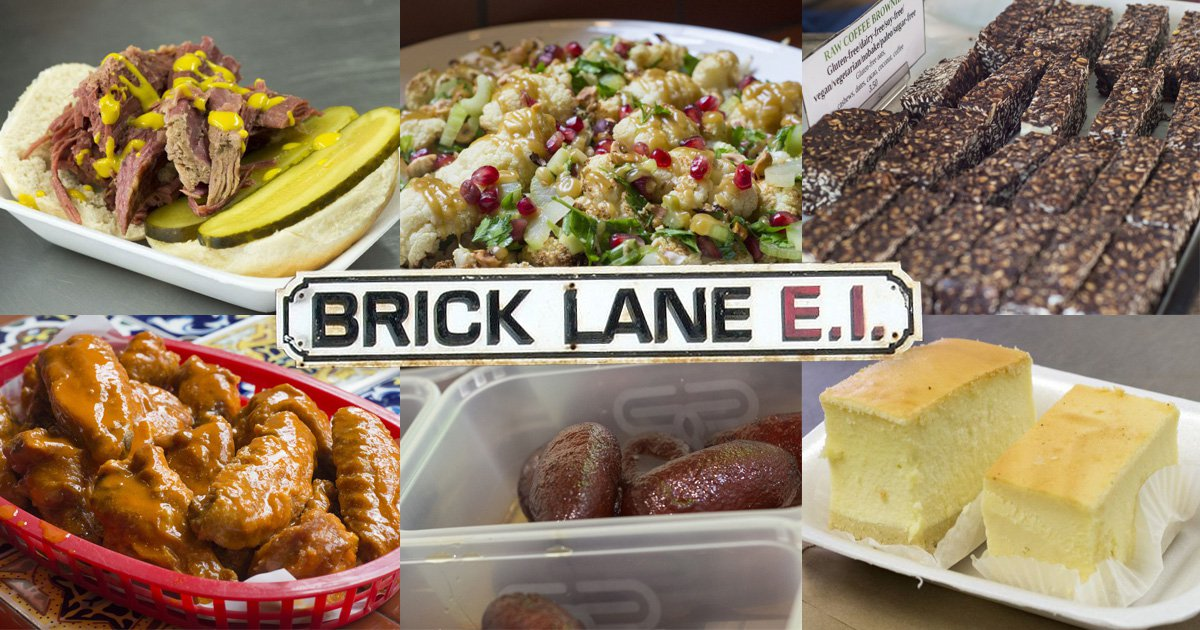 8 delicious things you have to try on London's Brick Lane plus a recipe to try at home