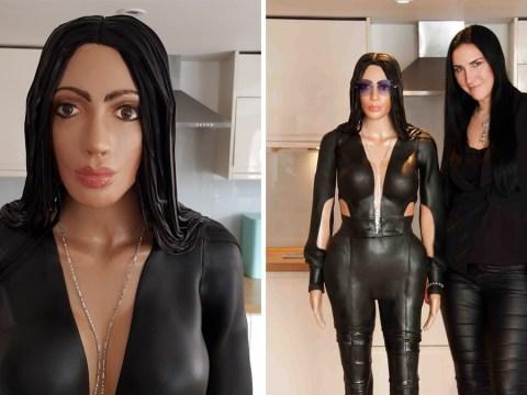 Kim Kardashian inspired lifesize cake contains £1.2 million worth of diamonds