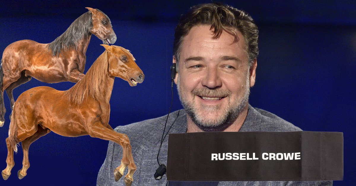 12 of the strangest items in Russell Crowe's divorce auction