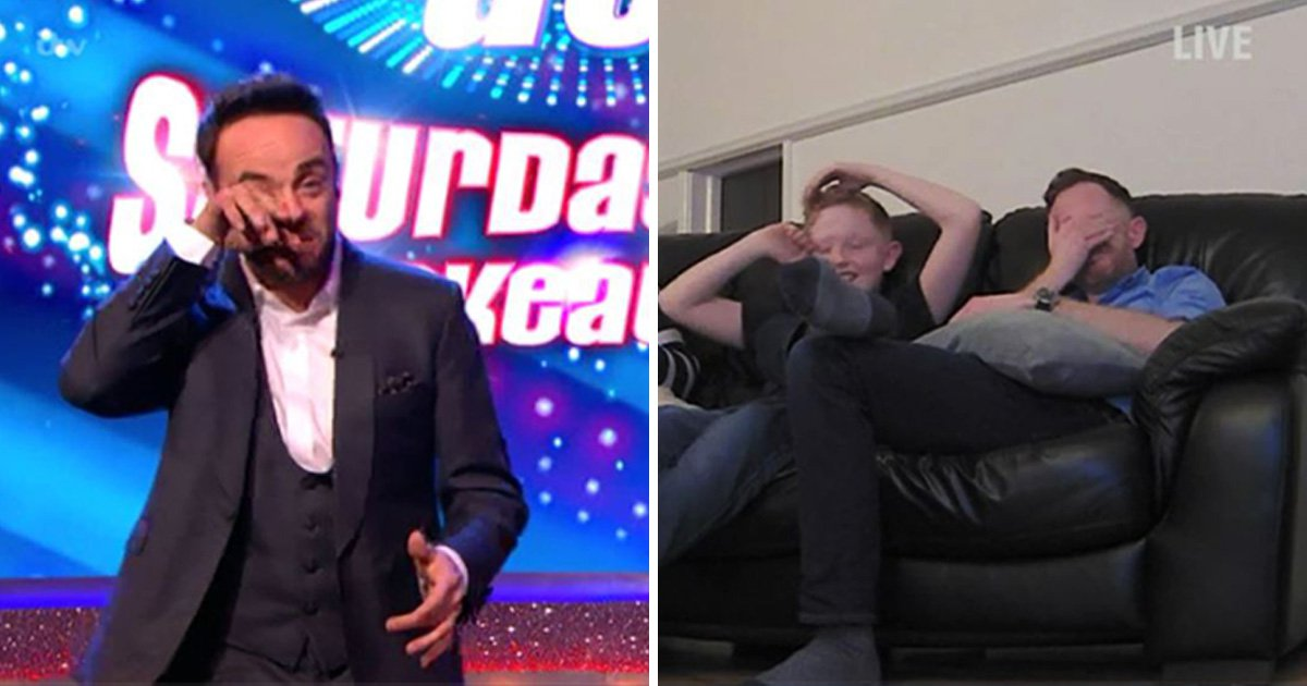 Ant and Dec fight back the tears as they give away holiday to dad whose wife passed away