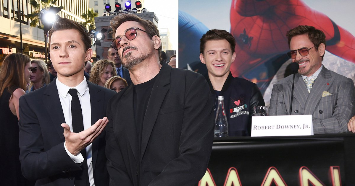 Tom Holland talking about Avengers co-star Robert Downey Jr as a role model is the most heart-warming thing ever