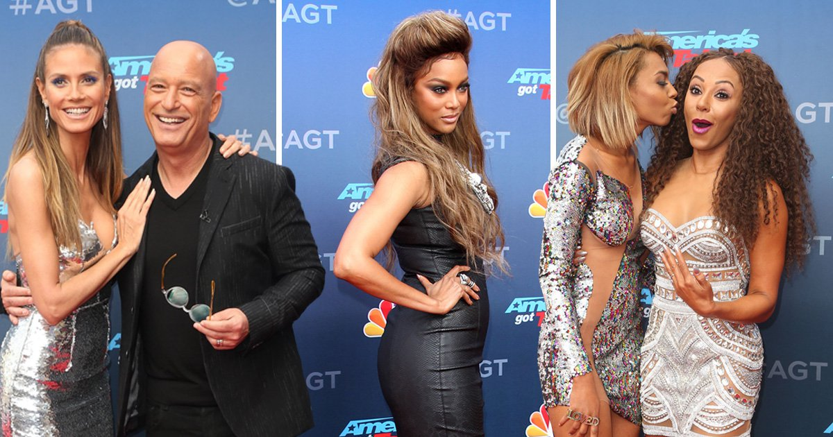 Americas Got Talent: Mel B., Heidi Klum Take Center