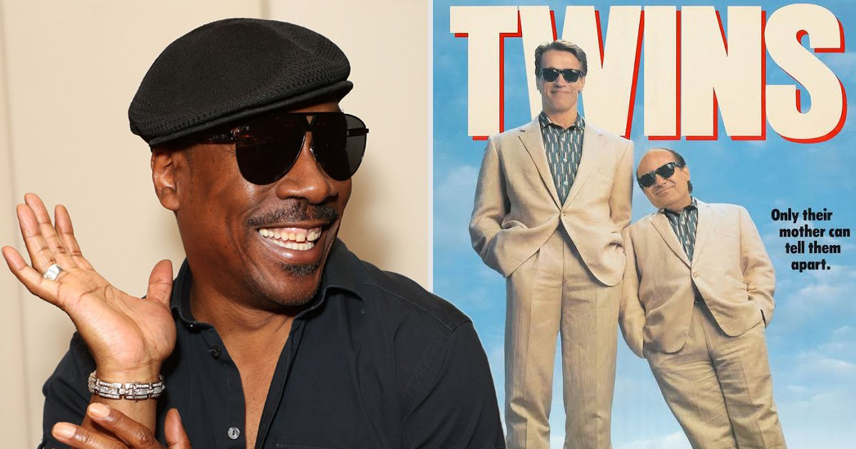 Arnold Schwarzenegger confirms Eddie Murphy is officially in Twins reboot