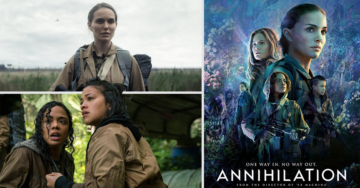 Natalie Portman's new Netflix film Annihilation is the movie you should be streaming this month – but why?
