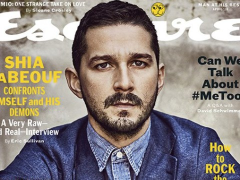 Shia LaBeouf reveals he suffers PTSD after he heard his mother being raped