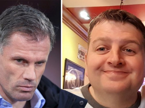 Police contact driver who filmed Jamie Carragher spitting after he gets 'death threats'
