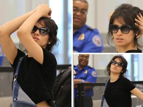 Camila Cabello is an inspiration as she trolls paparazzi while going through airport TSA