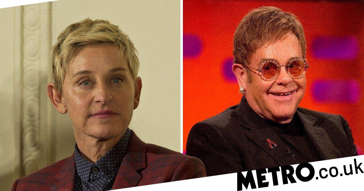 Ellen Degeneres slams Elton John's 'hurtful' words when she came out as gay