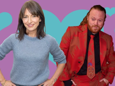 Keith Lemon fancies Davina McCall and he's in luck, she's single