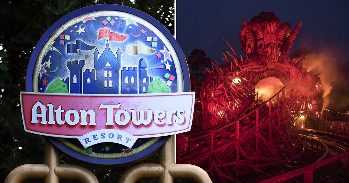 Alton Towers forced to close all rollercoasters on day of £16million Wicker Man launch